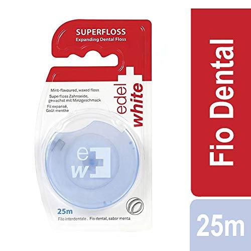 edel + white flauschige Zahnseide EF25