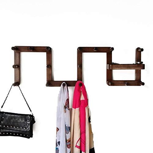 ZHICHUAN Registros Sólido Simple de Madera de Haya Suspensión de la Pared Abrigo Colgado en Rack Porche Ropa Gancho de la Pared Pared de la Manera Creativa Gancho de la Suspensión E