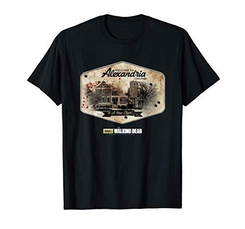 The Walking Dead Alexandria Camiseta