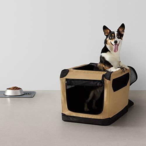 AmazonBasics – Hundekäfig, weich, faltbar, 66 cm - 7