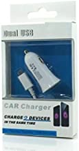 Dual USB 2 in 1 Micro USB Cell Phone CAR Charger for VERIZON Motorola Droid RAZR M
