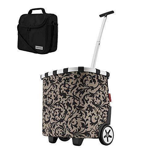 reisenthel carrycruiser barock Taupe 40 Liter Einkaufstrolley Promo