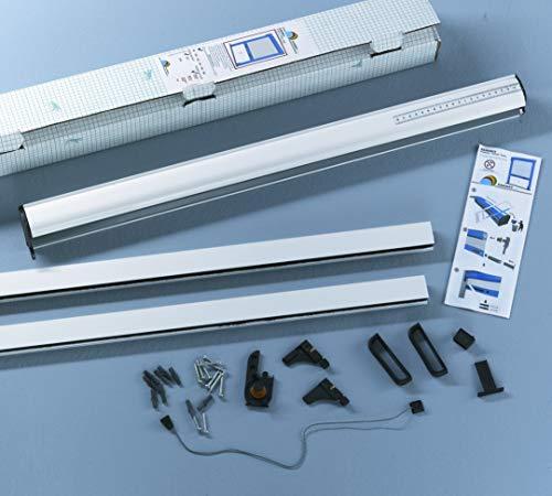Insektenschutz Rollotür Sanimex, Fliegengitter, Aluminium Fiberglas hochwertig 1500x2200mm