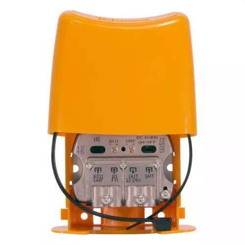 Televes 561501 - Amplificador mástil nanokom 3e/1s easyf biii