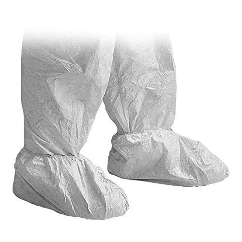 DuPont Tyvek 500 Überschuhe, 20 Stk. Überschuh zur Ergänzung von Schutzkleidung, PSA Kategorie, Weiß, Große 36-42