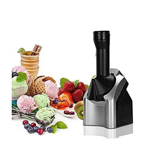 Inicio Máquina para Hacer Helados Haga Deliciosos Sorbetes de Helado y Máquina para Hacer Yogurt Congelado Portátil para El Hogar, Original, Saludable, para Postre, Fruta, para Servir Helado Suave, pa