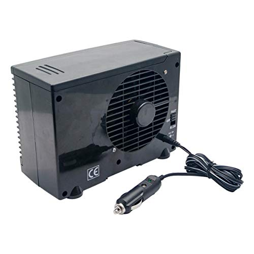MASO 12V Mini Air Conditioner Home Car Cooler Cooling Water Evaporative Fan whith Evaporative Portable