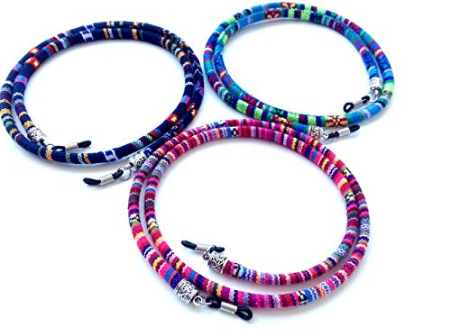 3 pcs cordón Gafas,Estampado Etnico,(HC Enterprise-N301