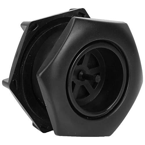 Zwindy Válvula de Drenaje para vehículos recreativos Duradera, válvula de Drenaje de Tanque de Aire Ligera y Resistente al Desgaste, tamaño pequeño para Yates, Kayak, Botes inflables, Botes de