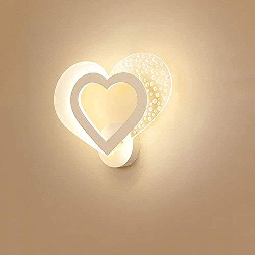 Interieur Woonkamer Badkamer Balkon Garage Single Modern Warm Romantisch Personality Creative LED lamp van het bed zonder bron van licht