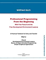 Professional Programming From the Beginning: With Free Pascal And the Free Development Environment Lazarus