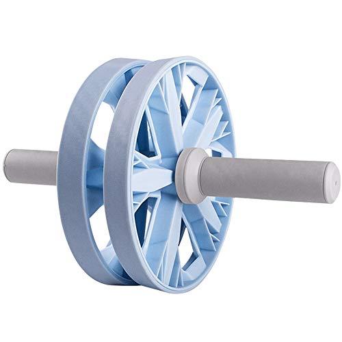 XUMI Rueda Abdominales, Rueda AB Dual Abdominal Abs Trainer para Culturismo Fitness Antideslizante Big Wheel Mute Roller Dos Modos De Entrenamiento En El Equipo De Fuerza De Entrenamiento En El Hogar