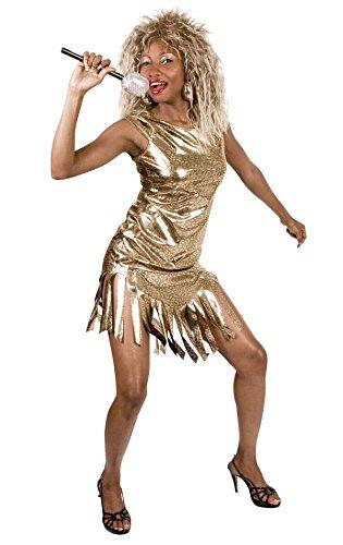 TH-MP Disfraz de cantante de los años 80, Rock Queen