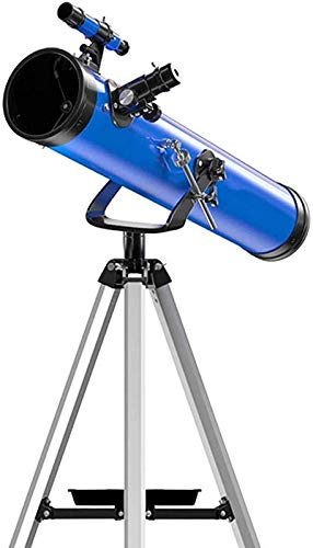 SEESEE.U Tragbares Anfänger-Astronomie-Teleskop für Kinder Erwachsene mit verstellbarem Stativ, Ganzmetallhalterung, 114 mm großem Durchmesser, Reise-Astronomie-Teleskop