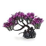 ZGQA-GQA Plantas de acuario de plástico decorativo de la aguamarina ornamento paisaje decoración casera