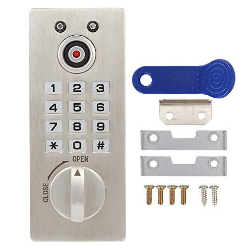Cerradura codificada de gabinete: seguridad para el hogar, códigos digitales electrónicos, teclado, contraseña, entrada, cerradura de puerta de gabinete para el hogar, hotel, escuelas, gimnasio