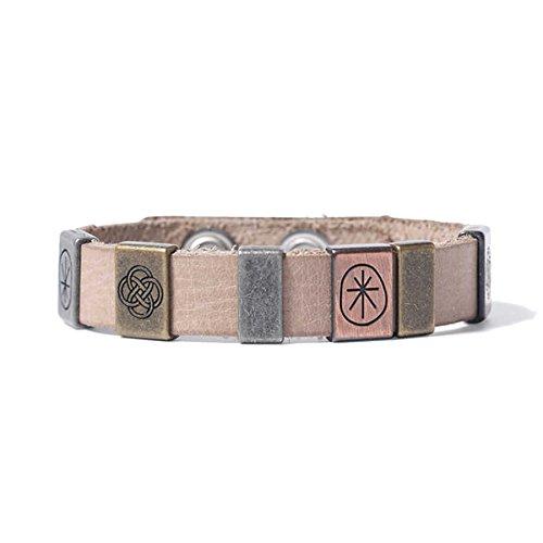 Noosa Amsterdam Women's Bracelet Leather Beige WBS 352M ( beige