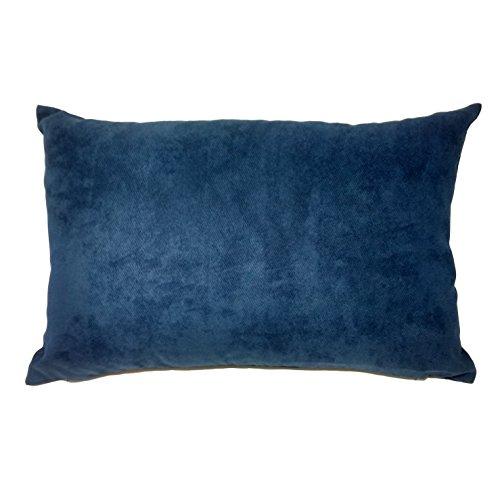 UK Care Direct Bleu à Chevrons Boudoir Housse de Coussin 60 cm x 40 cm