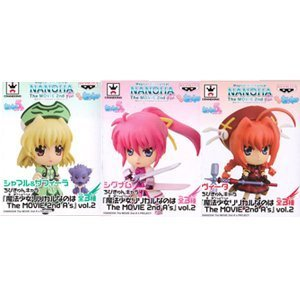 What character Magical Girl Lyrical N Chibi Kyun is The MOVIE 2nd A's vol.2 Vita Signum Shamal and Zafira all three set (japan import)