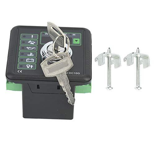 Miskall Panel de Control del generador, Panel de Control del módulo del Controlador del generador electrónico de Aguas Profundas con Pantalla LCD