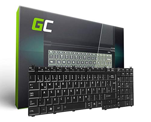 Green Cell® Notebook Tastatur für Toshiba Satellite P500-127 DE QWERTZ NEU