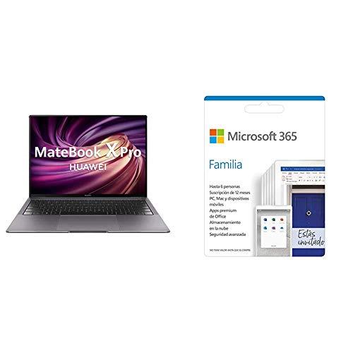 Huawei Matebook X Pro - Ordenador portátil Ultrafino táctil 13.9' 3K (Intel Core i7-8 + Microsoft 365 Family   por Correo