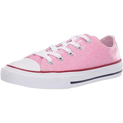 Converse Unisex-Kinder Chuck Taylor All Star Sneaker, Pink (Pink Foam/Enamel Red/White 000), 33 EU
