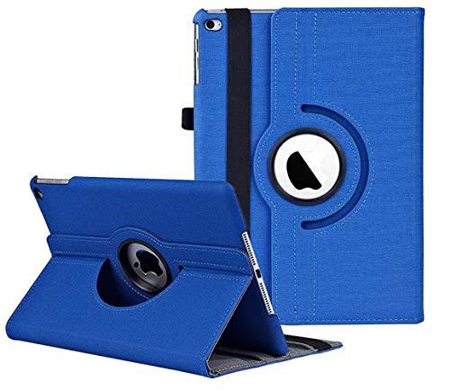 iPad Case for iPad 9.7 2018 2017 / iPad Air 2 / iPad Air - 360 Degree Rotating Stand Protective Cover with Auto Sleep Wake for iPad 9.7 inch (6th Gen 5th Gen) iPad Air 2 / iPad Air (NZW9.7-Sapphire)