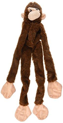 SKINNEEEZ 470478 Hundespielzeug AFFE, 41 cm, braun