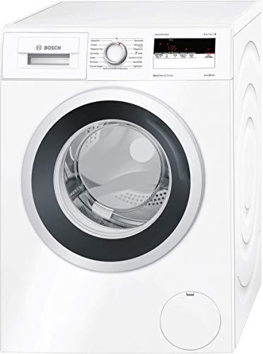 Bosch WAN281KA Serie 4 Waschmaschine Frontlader / A+++ / 157 kWh/Jahr / 1400 UpM / 7 kg / weiß / Nachlegefunktion / ActiveWater Mengenautomatik