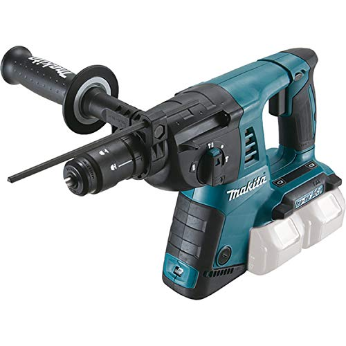 Makita DHR264ZJ Twin 18 V Li-ion LXT Rotary Hammer in a Makpac Case, No Batteries Included