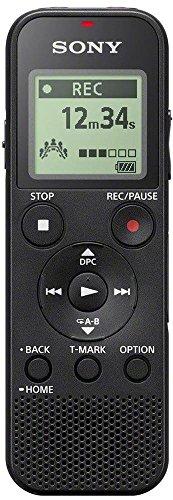 Sony ICD-PX370 Registratore Digitale Mono, Optimized Voice Rec, Altoparlante Integrato, Jack Cuffie...