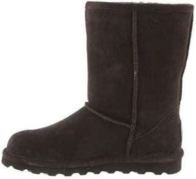 BEARPAW Womens Emma Tall Round Toe Ankle Fashion Boots