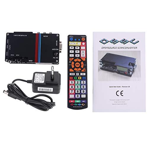 GGsheng Enhanced Edition OSSC-X MI-Konverter-Kit Für Die Videokonvertierung R-Spielekonsolen PS1 2 X-Box US/EU-eer -Extractor-Konverter