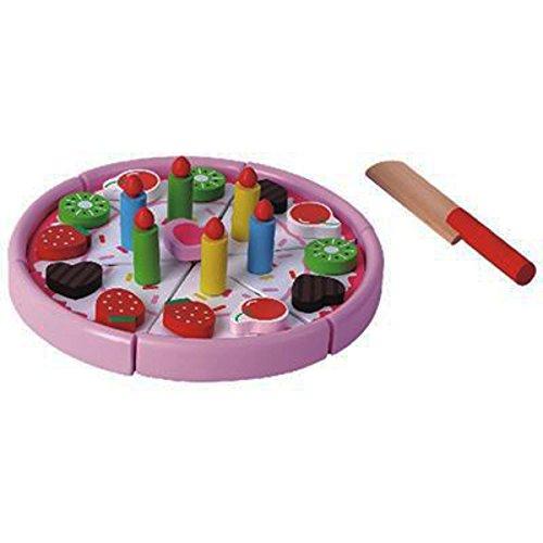 Beluga Spielwaren 77023 - Erdbeertorte aus Holz
