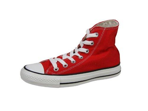 Converse Chuck Taylor All Star, Unisex-Erwachsene Hohe Sneakers, Rot (Weinrot), EU 43 EU