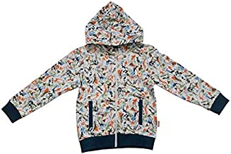 Milou Swiss Kids Clothing Ful Sleeve Boys Hooded Jacket