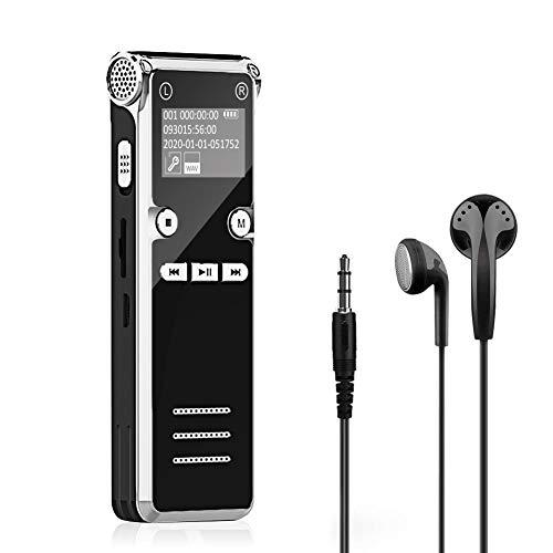 Grabadora de Voz Digital Portátil, 8G...