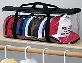 CAP STORAGE BAG (BLACK)