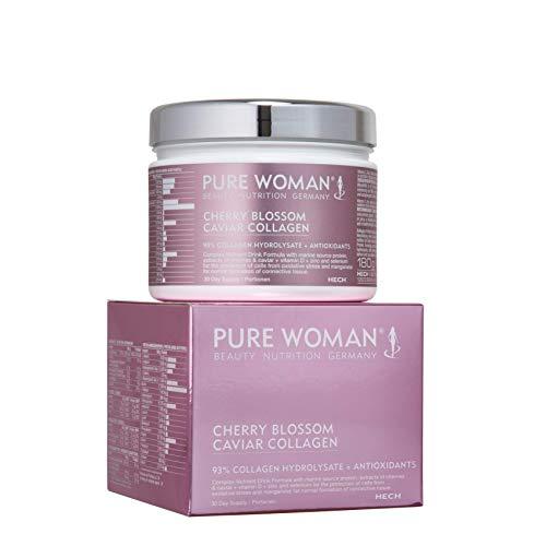 HECH Pure Woman Cherry Blossom - 93% Collagen Hydrolysate + Antioxidants, 300 g