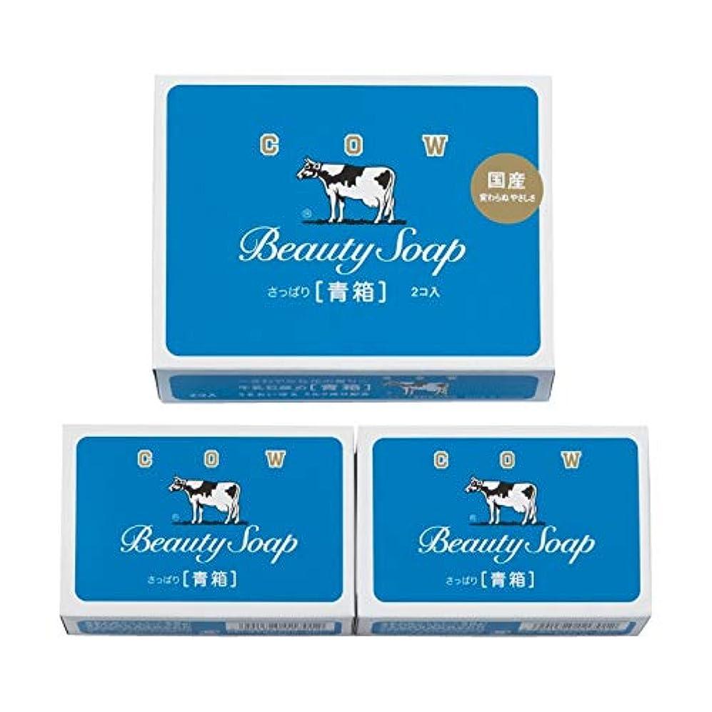 達成するアンプ成熟した牛乳石鹸 青箱2コ入 【粗品 洗面所 石鹸 牛乳石鹸 うるおい 美容 さっぱり セット 優しい やさしい】