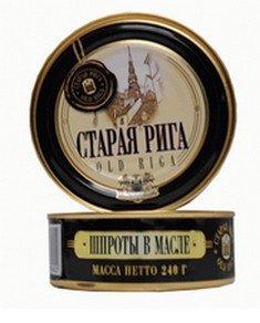 Geräucherte Sprotten in Öl Old Riga 5er Pack (5x 240 g)