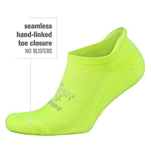 Balega Hidden Comfort No-Show Running Socks for Men and Women (1 Pair), Black, Small