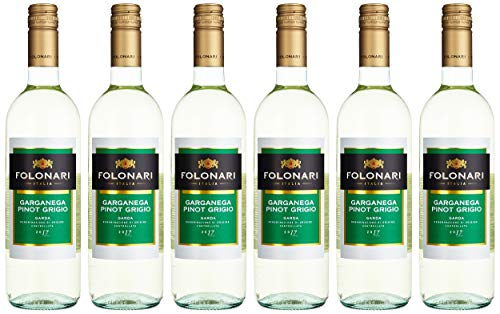 Folonari Pinot Grigio Garganega Weißwein trocken (6 x 0.75 l)