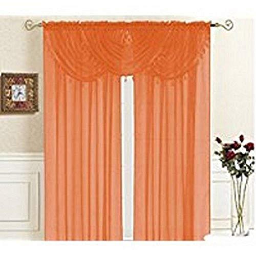 Kashi Home Lisa Valance Collection Window Accent Valance 36