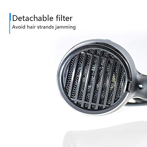 Perfect Nova (Device Of Man) EF-2012 Hot & Cold Hair Dryer (Black)