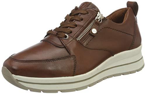 Tamaris Damen 1-1-23740-26 Sneaker, Sneaker, cognac uni, 39 EU