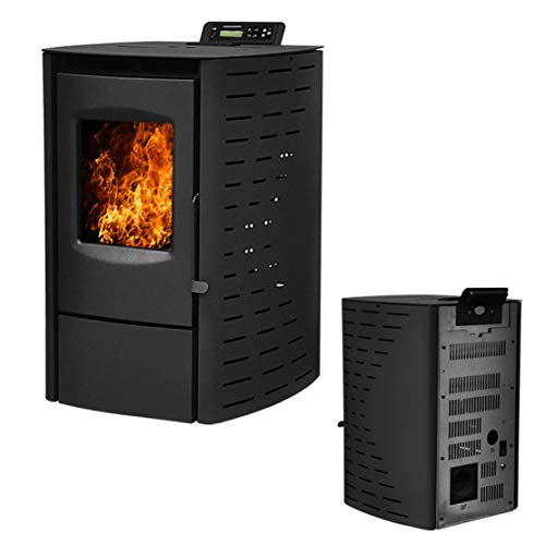Deari Serenity Wood Pellet Stove - Electric Fireplace Heater...