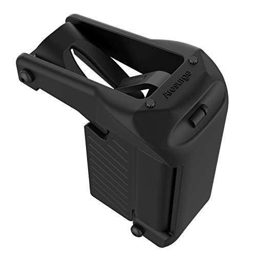 Aresurge Universal Magazine Speed Loader Fits 9mm,10mm .357 Sig.40.45ACP, and .380ACP Caliber, and 1911 Magazines.Include Single and Double-Stack Magazines (Light Black)