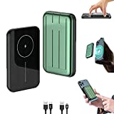 Mag-Safe Power Bank, 5000Mah Mag-Safe Wireless Charger, Portable...